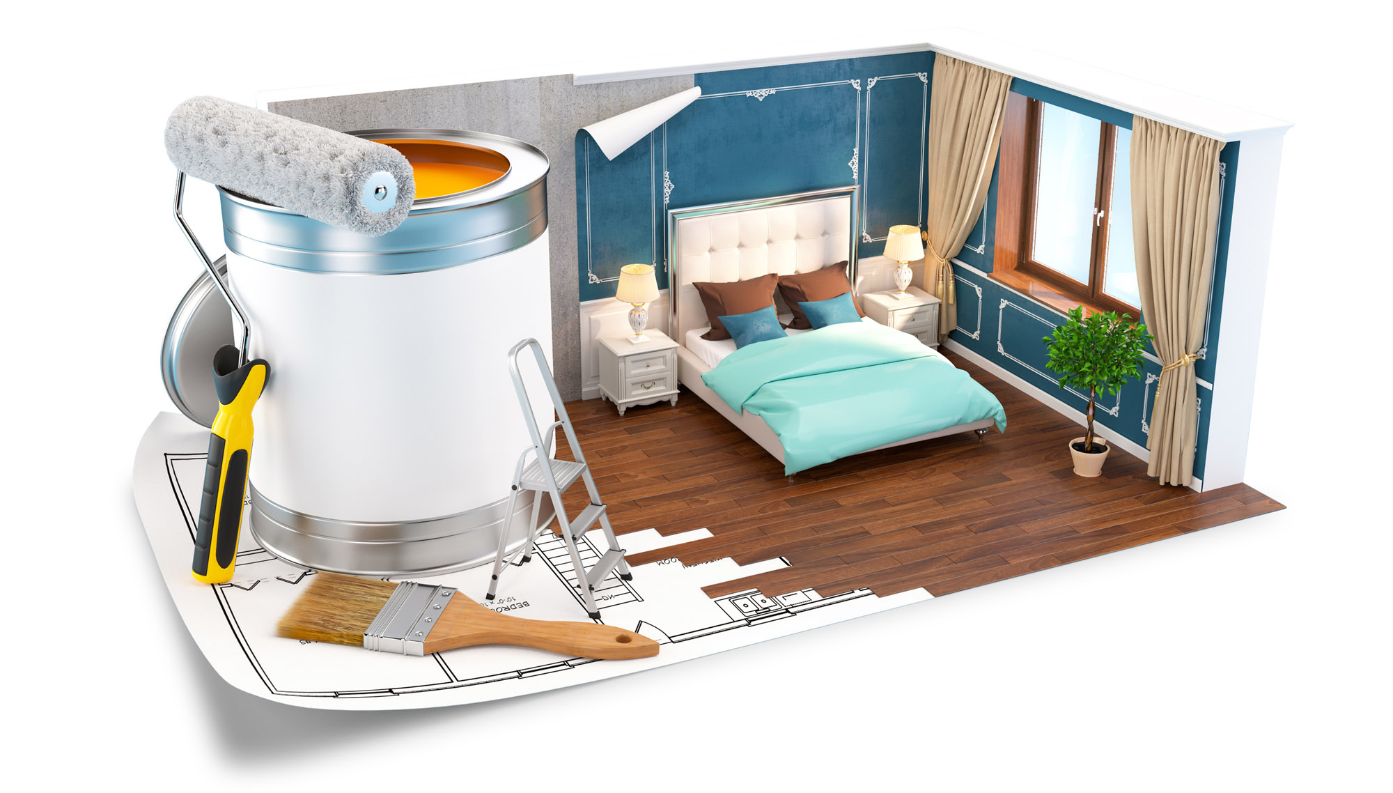 Pe lângă un parchet de calitate, o cameră reușită are nevoie și de multe alte elemente de design interior. Iată 10 sfaturi pentru un design interior ideal