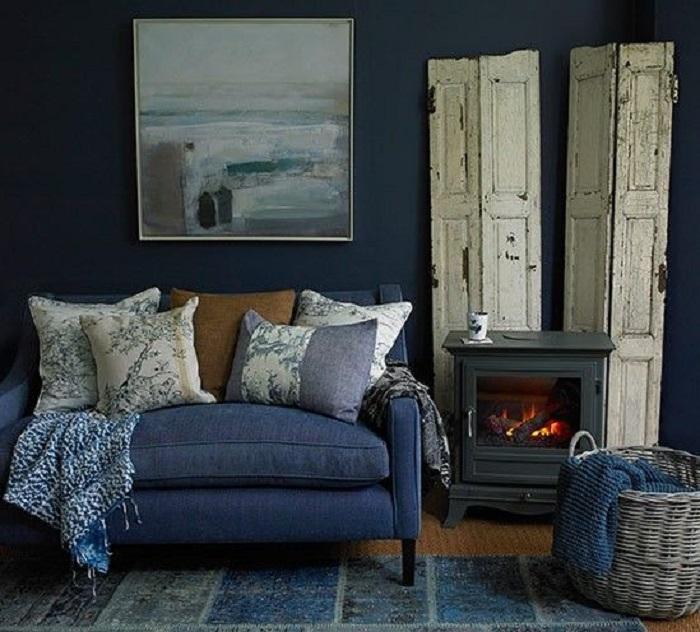 Denimul în designul interior - oferă un aer chic spațiilor interioare