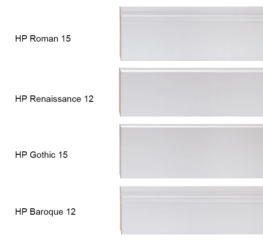 Plintele albe pentru parchet sunt ideale dacă vrei un decor elegant. Pe lângă aceste accesorii, poți opta pentru culori contrastante, pentru un plus de efect