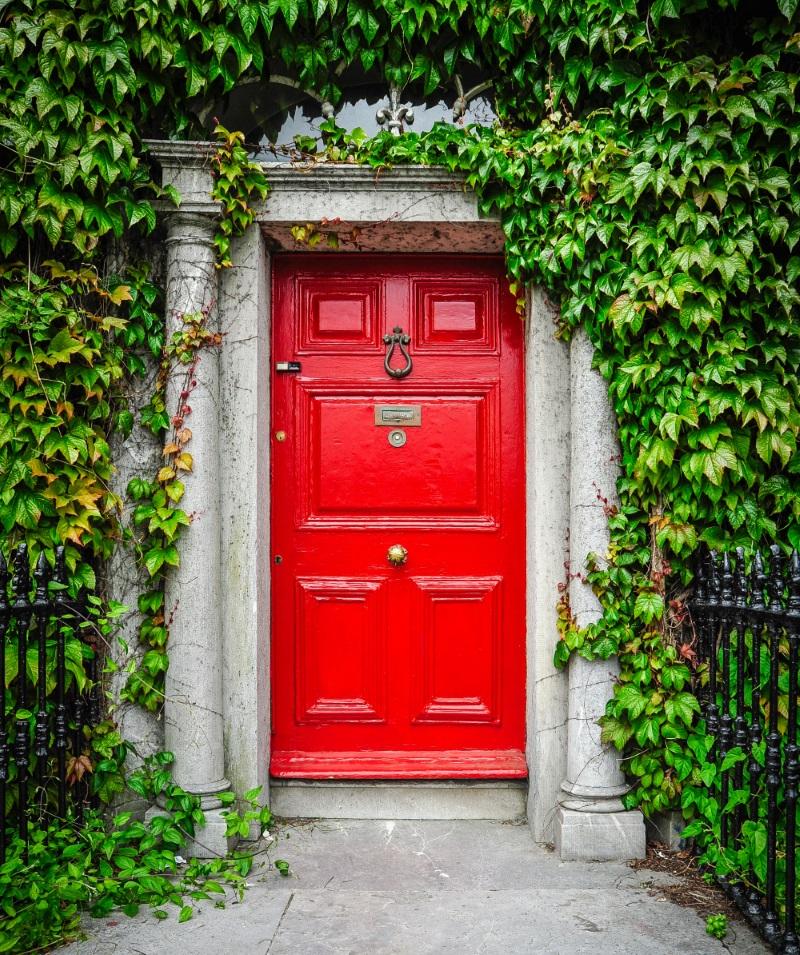 Vopseste usa de la intrare intr-o culoare vesela pentru a avea o casa de vis - design interior poze