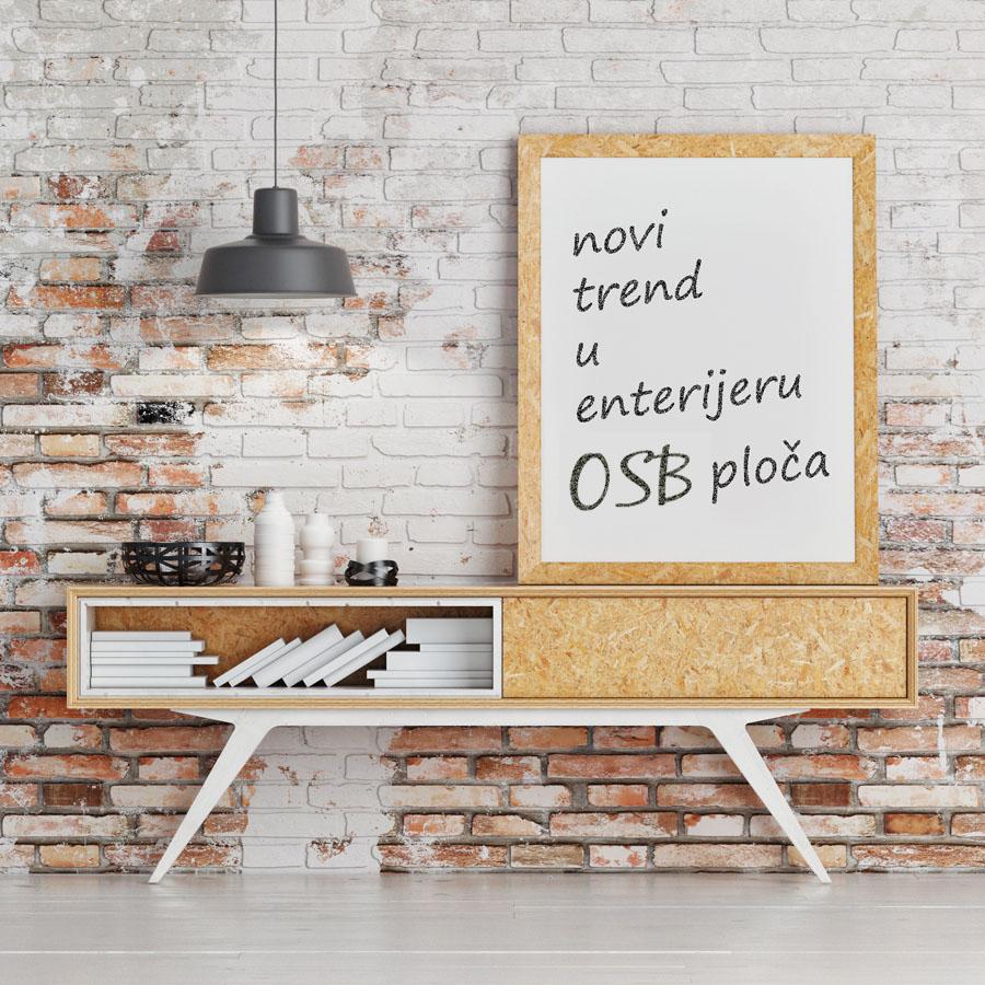 Mobilă și decorațiuni din plăci OSB nefinisate