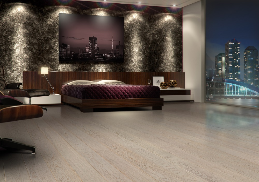 Dormitor cu tablouri și decor blocuri luminate. Idei creative de amenajare a dormitorului