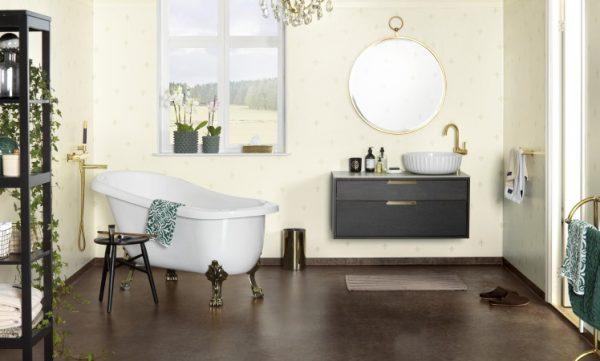 Tapet pentru baie. Idei pentru amenajarea spațiilor umede