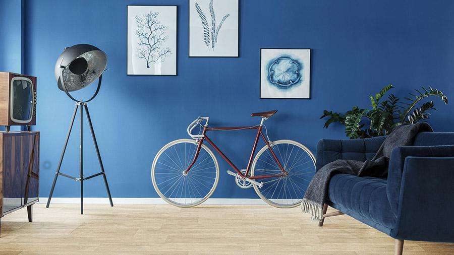 albastru clasic amenajare sufragerie